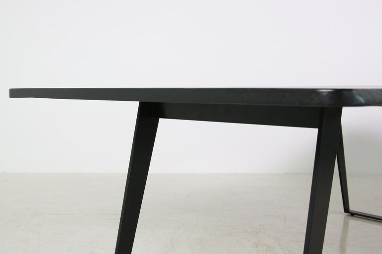 Concept Table Nathan Lindberg Solid Brushed Oak And Steel