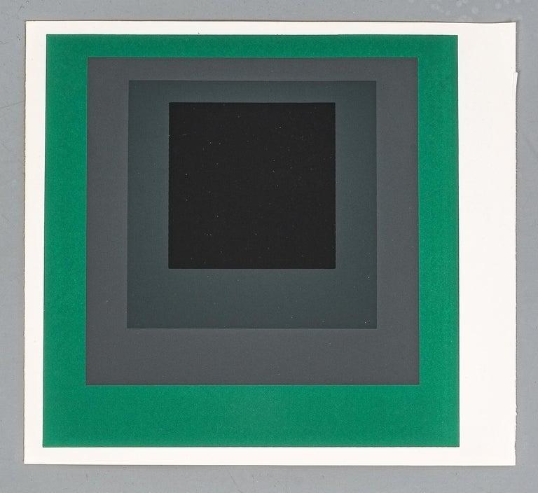 1 of 9 Screen-Prints Serigraph after Josef Albers, 1977 1