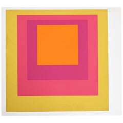 1 of 9 Screen-Prints Serigraph after Josef Albers Albers, 1977
