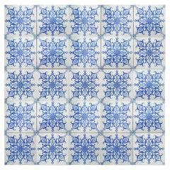 1 of the 140 Art Deco Tiles by Boch Freres, la Louvière, 1920's