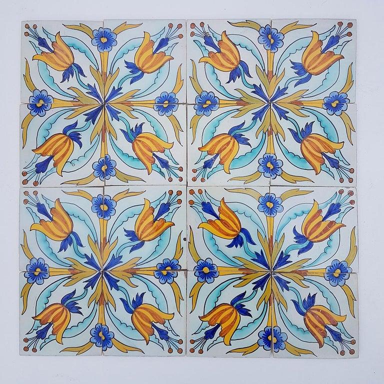 Folk Art 1 of the 144 Handmade Antique Ceramic Iles by Devres, France, 1910s