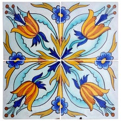 1 of the 144 Handmade Antique Ceramic Iles by Devres, France, 1910s