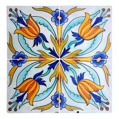 1 of the 144 Handmade Antique Ceramic Iles by Devres, France, circa 1910s