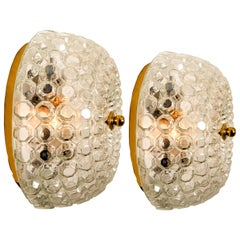 1 of the 2 Bubble Flushmounts/Wall Sconces by Limburg, 1960s