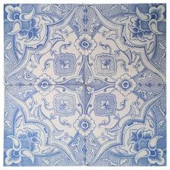1 of the 24 Antique Tiles, Boch Freres, la Louvière, 1930