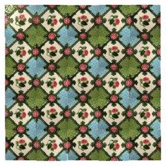 1 of the 24 Glazed Relief Tiles, S.A. Produits Ceramiques de la Dyle, 1930s