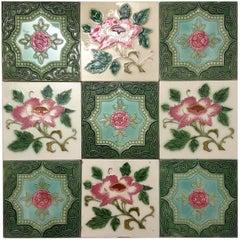 1 of the 36 Mixed Glazed Tiles by S.A. Produits Ceramiques de la Dyle, 1930