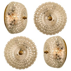 1 of the 4 Bubble Flush Mounts/Wall Sconces by Tynell, 1960s