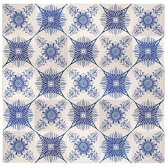 1 of the 42 Unique Antique Tiles, Hemiksem, 1920