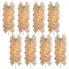 1 of the 8 Tulip Large Wall Lamps/Sconces by J.T. Kalmar 'H 21.2', 1960s