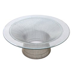 1 Platner Coffee Table Designed by Warren Platner for Knoll