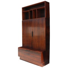 1 Rosewood Bookcase by Ib Kofod-Larsen for Faarup Møbelfabrik 4 Available
