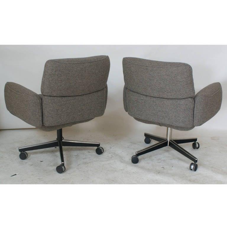 American 1 Vintage Knoll Zapf Vintage Executive Low Back Armchair
