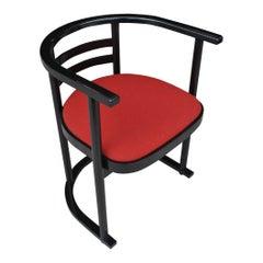1 Vintage Thonet Josef Hoffmann Style Bauhaus Chair