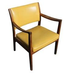 1 Vintage Walnut Johnson Furniture Dining Chair