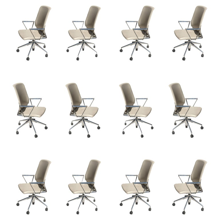 1 Vitra Meta Conference Chair by Alberto Meda 12 Available For Sale