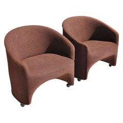 1 Ward Bennett Barrel Lounge Chair