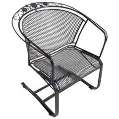 1 Woodard Wrought Iron Patio Chair