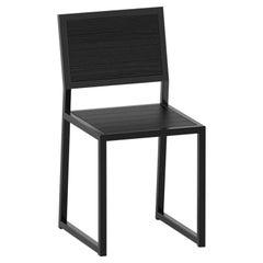 1 x 1 Chair, Black Oak
