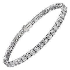 10 Carat Classic Diamond Tennis Bracelet