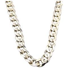 10 Karat Yellow Gold Cuban Link Chain