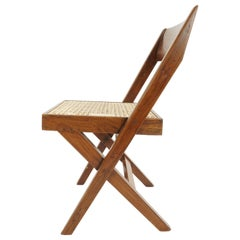 10 Library Chairs by Pierre Jeanneret, Chandigarh, 1959-1960