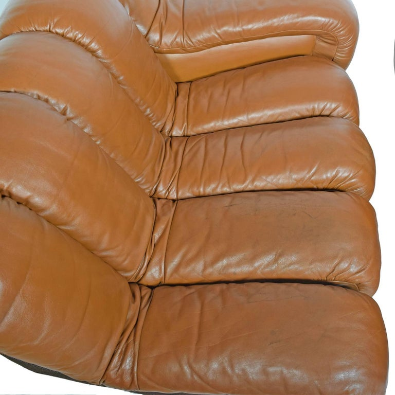 10-Section 'Non-Stop' Sofa by Riva, Ulrich Vogt for De Sade Imported by Stending For Sale 1