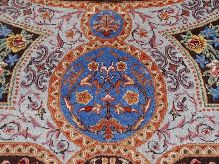 Renaissance Aubusson Savonnerie Style European Hand Knotted Rug For Sale 5