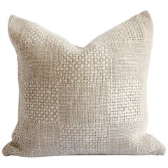 100% Belgian Natural Linen Decorative Accent Pillow