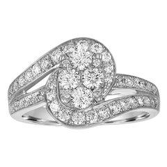 1.00 Carat 14 Karat Ladies Ring