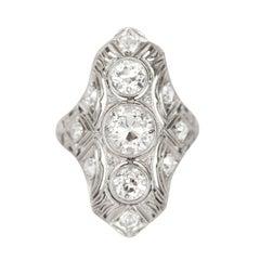 1.00 Carat Diamond Engagement RIng