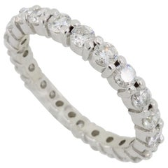 1.00 Carat Diamond Eternity Band