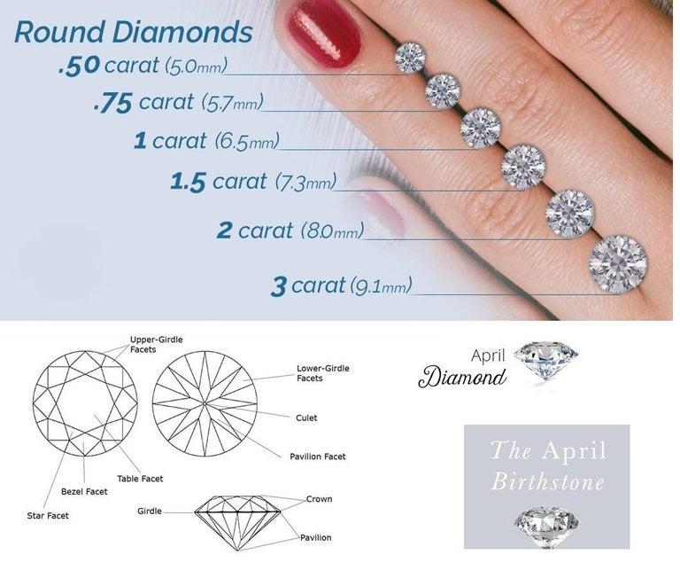 1.00 Carat Diamond Eternity Platinum Band Ring For Sale 2
