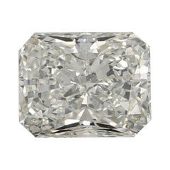 1.00 Carat Loose Diamond, Radiant Cut GIA Graded Solitaire SI1 H