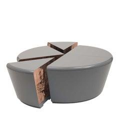 100% Copper Coffee Table