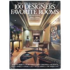 100 Designers' Favorite Rooms by John L. Pellam