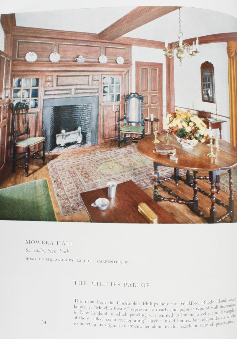 100 Most Beautiful Rooms in America by Helen Comstock For Sale 6