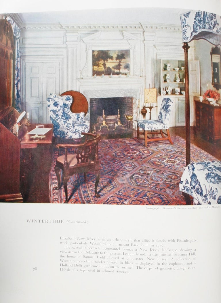100 Most Beautiful Rooms in America by Helen Comstock For Sale 9