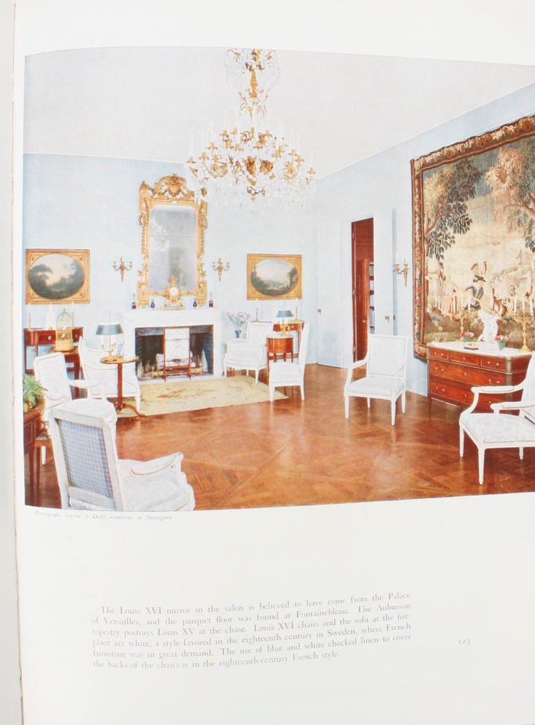 100 Most Beautiful Rooms in America by Helen Comstock. New York: Crown Publishers, Inc., 1961. Revised edition hardcover with dust jacket. 210 pp. A selection of 100 rooms chosen as the best in authentic traditional American home decoration. The