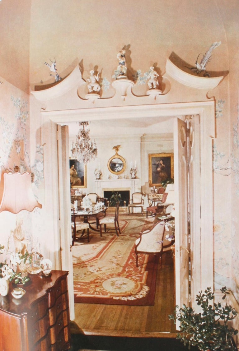 100 Most Beautiful Rooms in America by Helen Comstock For Sale 1