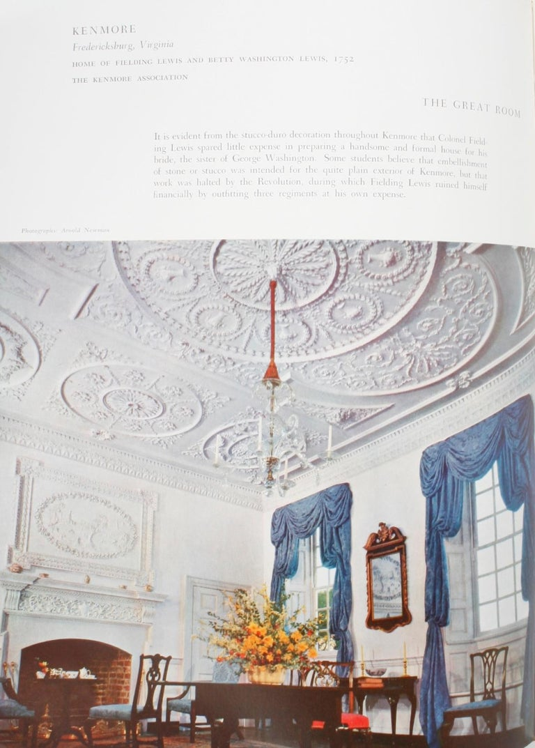 100 Most Beautiful Rooms in America by Helen Comstock For Sale 3