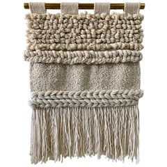 100% Natural Handwoven Wool Tapestry