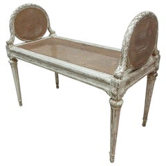 100% Original finish Swedish Gustavian Bench