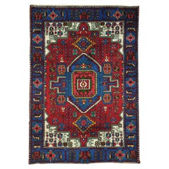 100 Percent Wool Persian Nahavand Hand Knotted Oriental Rug