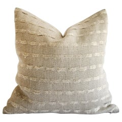 100% Pure Natural Linen Accent Pillow