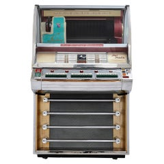 100-Record Retro American Seeburg Select-O-Matic V-200 Jukebox