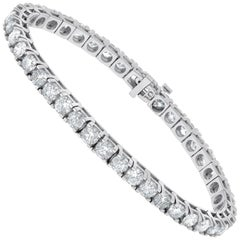 10.00 Carat Diamond Tennis Bracelet, Each Stone 0.25 Carat