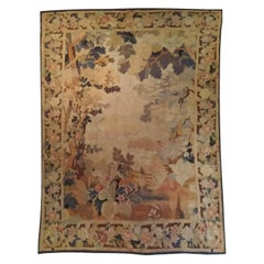1005 - Antique Greenery Tapestry