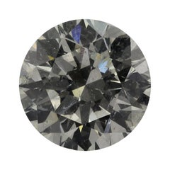 10.06 Carat Round Brilliant Cut J SI2 IGI Certified Natural Diamond