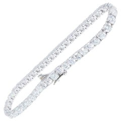 10.07 Carat Diamond Tennis Bracelet